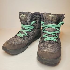 The North Face Womens Thermoball Lace Up Boots Sz7